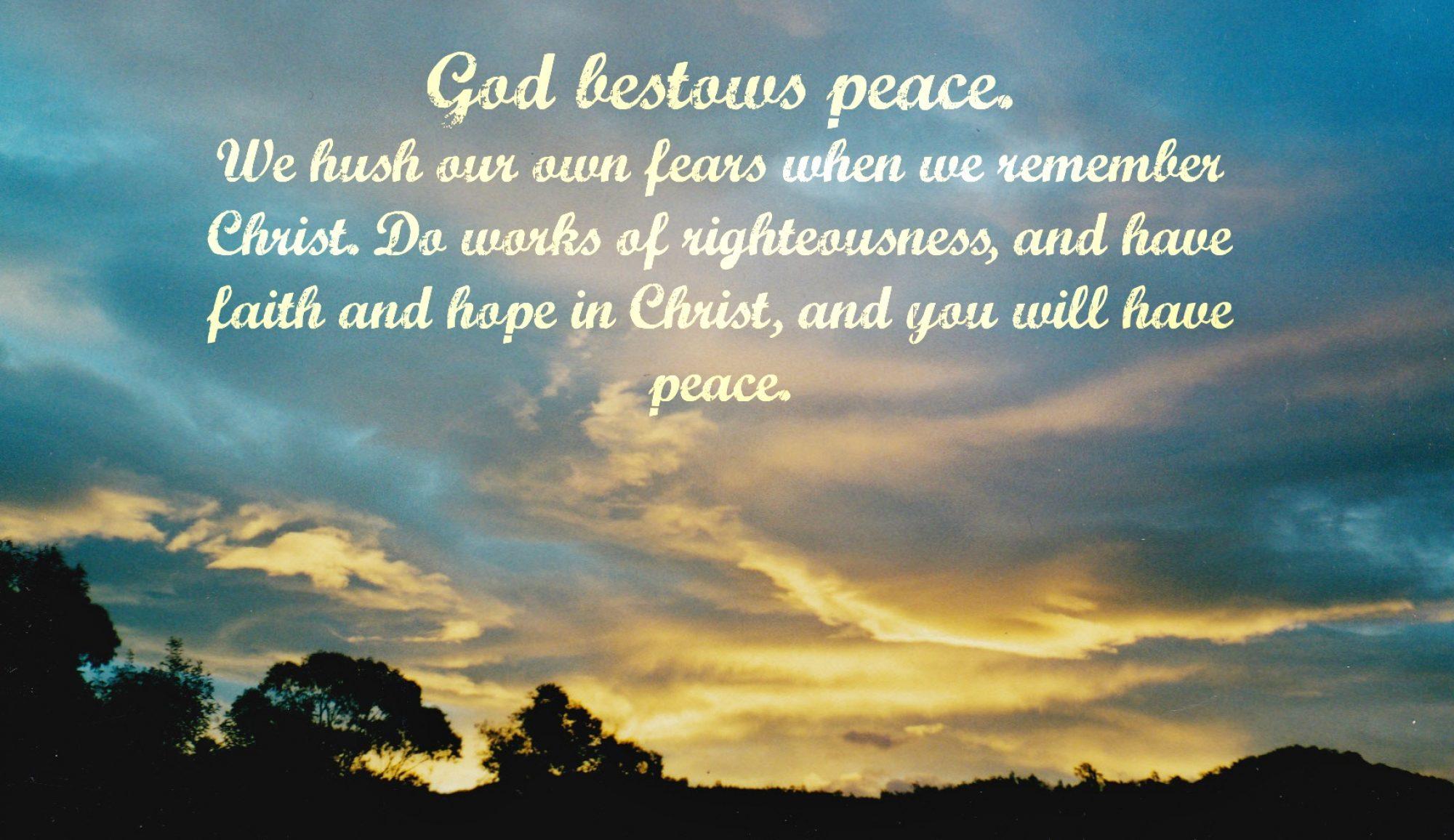 Peaceable Treasures